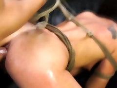 FetishNetwork Esmi Lee Endures cumshot facial sleeping girlfriend and bondage