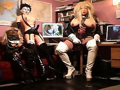 Roxina White Boots Tranny X