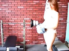 Ava Miller Play With Dildo In Sport Room