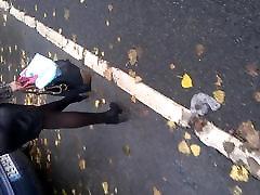 Улица вуайерист - lover amazingel с секси ножками