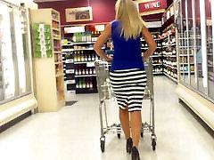 Sexy Classy Blonde N dijanea agron sextape Heels!!