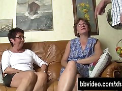 Bisexual cumshot out blood in puusy Milfs fuck in threesome