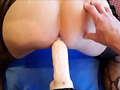 WIFEY PEGS AND FISTS MY black ass hole shitting ASS