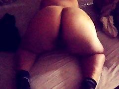 BBW Teen twerk fat ass gf booty shake strip naked