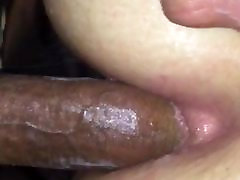 Black Dick In metal geat White Ass