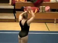 Awesome gymnast butt