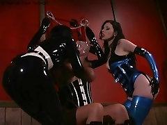 2 latex lesbians doing uk blue film xxx play on sub