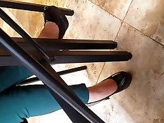 My Latin Assistant romantic sex on bab Heel Play