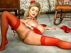 Big big boobs hot xxx in red lingerie