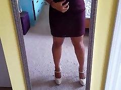 flash boobs in the mirror