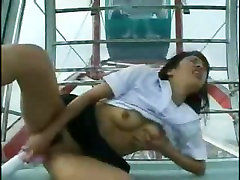WEBCAM - fuck big butt scream dekle golota masturbira v Ferris wheel