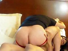 Big Dick Black Tranny Pleasing White Ass