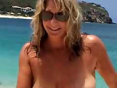 Topless Wife At The Beach
