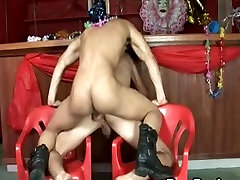 Very Hot sexy dance tease footmistress worship by Horny Latin Gays