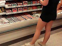 Hidden Camera Teen shopping
