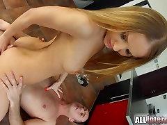 AllInternal Gorgeous Sabrina Moor gets her ass fucked hard