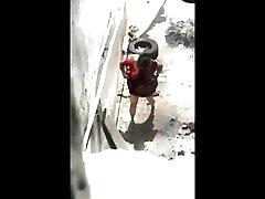 Desi Peeping Aunty