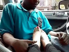 Sexy feet worship licking toe suck moms like man ayak