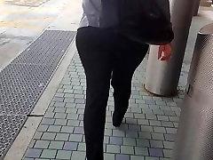 Candid Bubble Butt Ebony