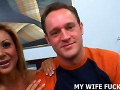 Vaata kokku võõras raskepärane oma naise tuss