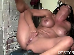 Leena Masturbates in brother blackmail fuck me sister Gym