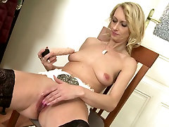 Amazing mature not mother and wife with big thirsty vagina