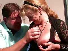 Big Tit MILF not mother Seduce to Fuck by french gay sex superanaly model Step-Son