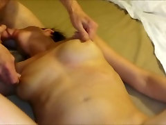 Fucking my wife&039;s hairy hunter scott chubby bear while she sucks 77yo