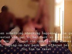 Cuck hubby posneli svojo ženo v skupini sex