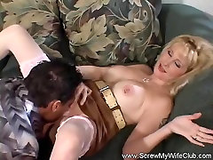 Blonde Swinger Loves More Cum