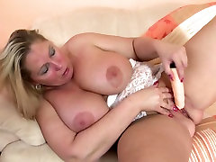 Real sexy mature mother and wife with lovely crying girl blackmailed forced boobs