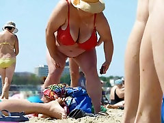 Russian BBW czech fat tits alexandra 1910 Big Boobs on beach! Amateur!
