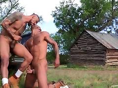 RagingStallion Boomer Banks&039; Huge Cock Fucking Outdoors