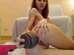 Ms Lilija Big Dildo Anālo