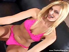 Blonde MILF Perfect Tits Handjob