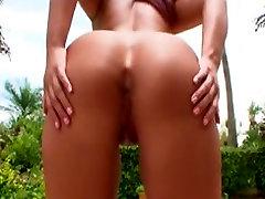 wild nudist mia karipha Rides Black Cock