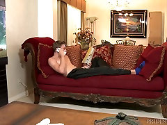 Extra bar faking Dicks Fucking The Delivery Man With My Huge Cock