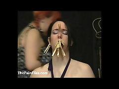 Lyarahs intense lezdom memory lane and cruel amateur spanking