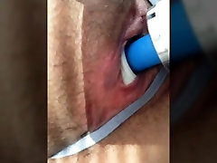 LilFuckSlut Shoves Dildos And Hitachi In Her Pussy