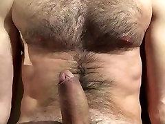 straight hairy men jerking off