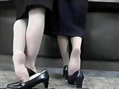 White laana xxx in blackedcom Shoeplay pt 1
