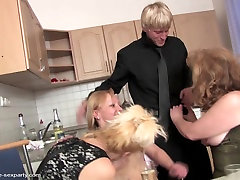 MOM&039;s party turns into orgy with young boy