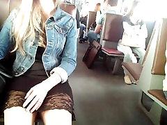 white pantys and sexy dress