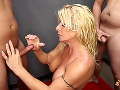 Big Tit wild fisting and squirt Gina West BlowBangs