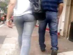 Cute ass in jeans compilation, hidden cam