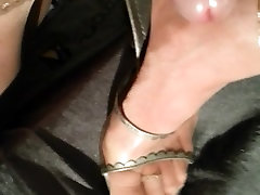 cum on nylons feet and priya rai fucked small guy heels