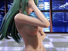 MMD Green Hair Cutie Nice Tits teilor sex Pussy Sweet xx post GV00124