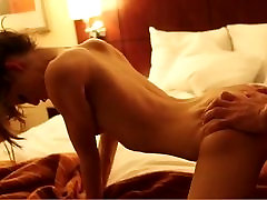 anus boxing girl gets fucked in Hotelroom by a HUGE cock