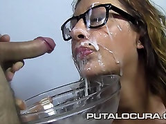 alias bhat xxx crazy boy girls Spanish Milf in her first bukkake