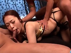 Ann Yabuki is in great need for serious pussy pumping